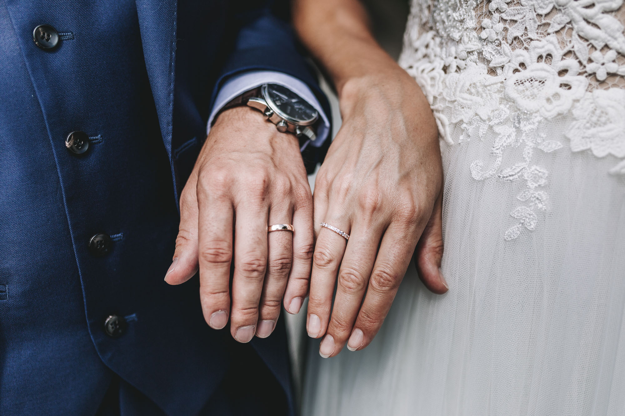 Wedding detail rings